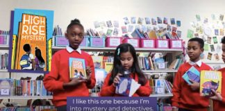 Children from the video for Round Table Books talking about what they love in books