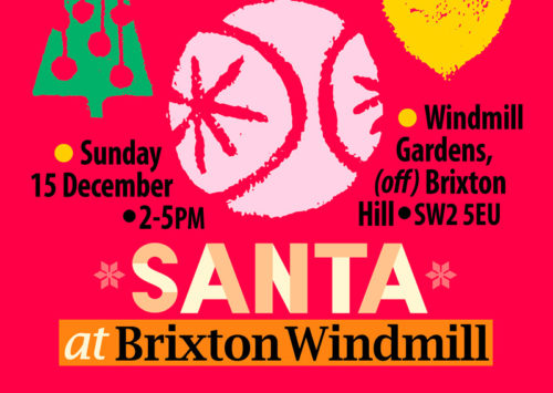 Santa visit and Bake Off at Brixton Windmill @ Windmill Gardens | England | United Kingdom