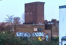The Pulross Road ventilation shaft
