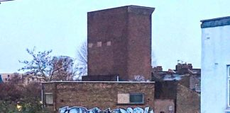 The Pulross Road ventilation shaft