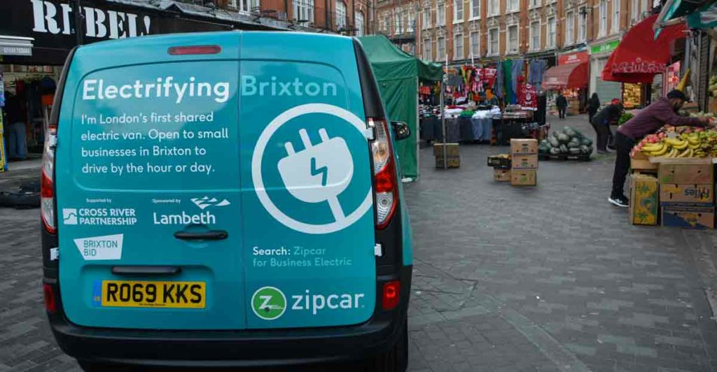 Zipcar electric van