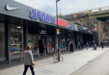 Sports Dit=rect shop Popes Road Brixton