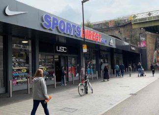 Sports Dit=rect shop Popes Road Brixton