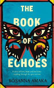 Flyer for the Book of Echoes
