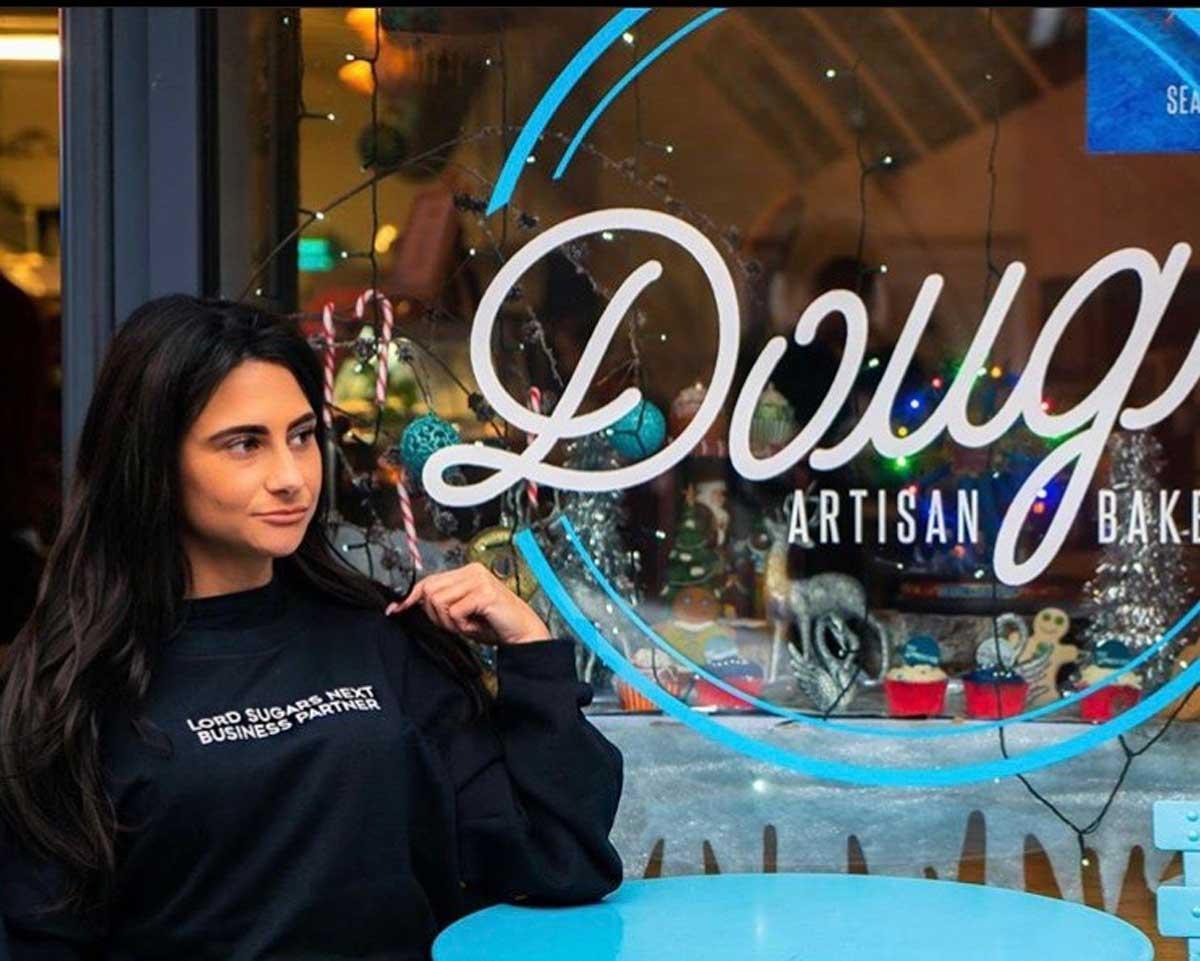 Carina Lepore, winner of the Apprentice outside family business Dough
