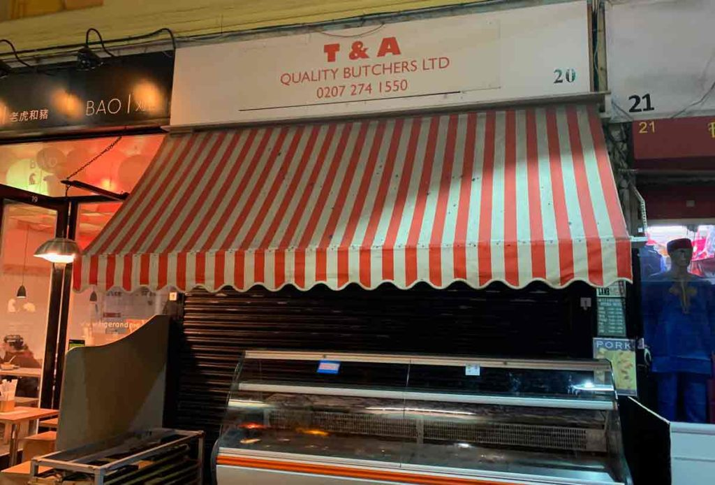 Closed: T&A Butchers