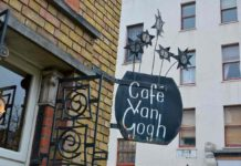 Cafe Van Gogh sign