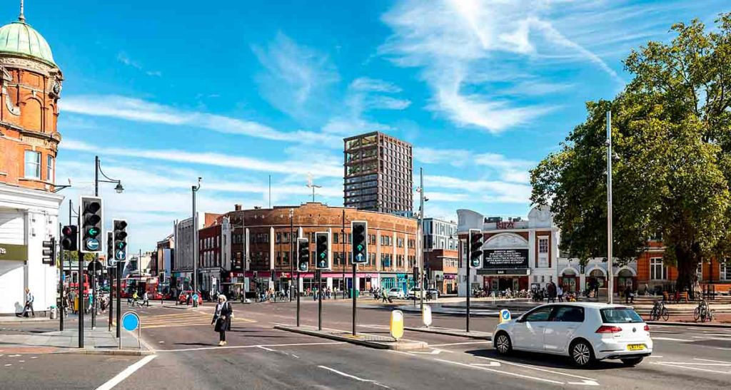 cgi image of tower over Brixton