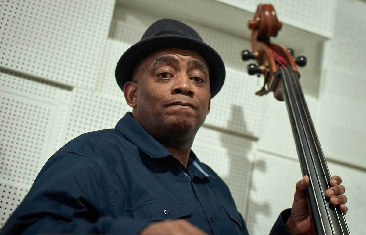 Double Bass player Lance Rose