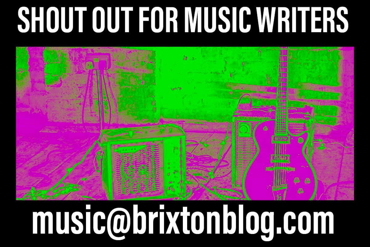 brixton blog appeal for music writers