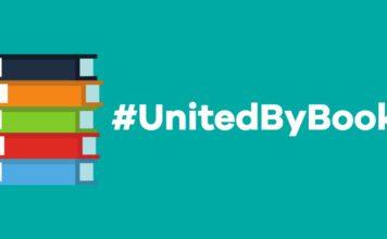 logo for #UnitedByBooks