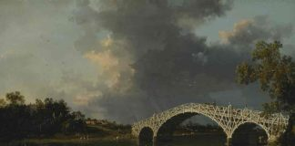 A View of Walton Bridge, Canaletto
