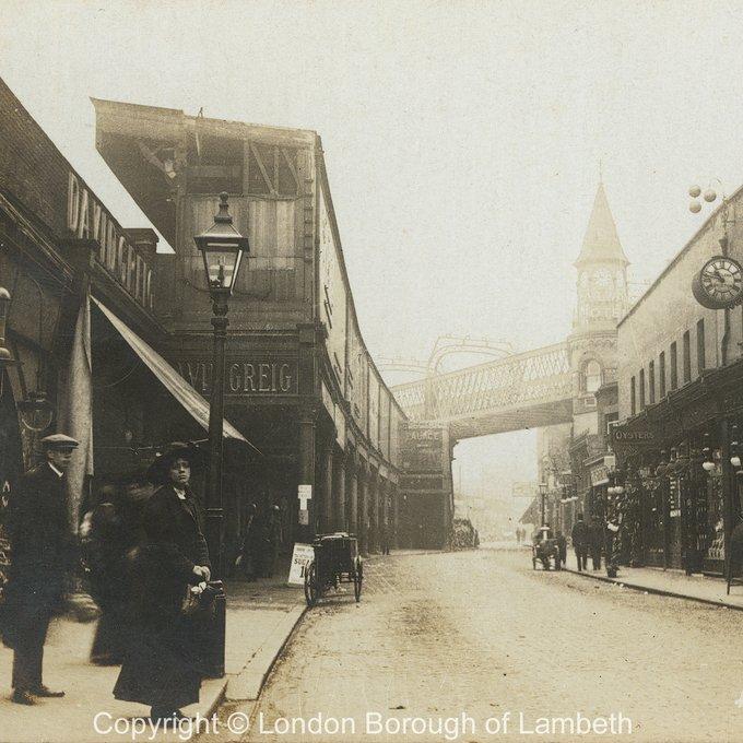Historical picture Atlantic Road c. 1917