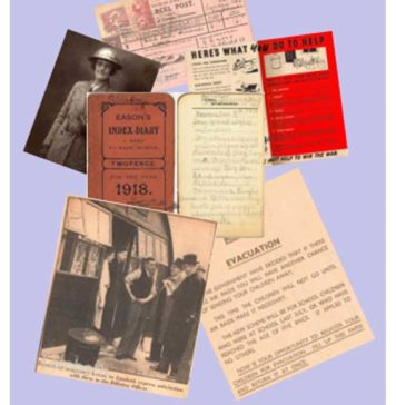 Memorabilia from Lambeth Archive