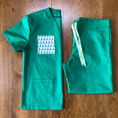 Scrubs made for NHS staff by Squire & Partners, Brixton