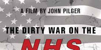 Dirty War on the NHS poster