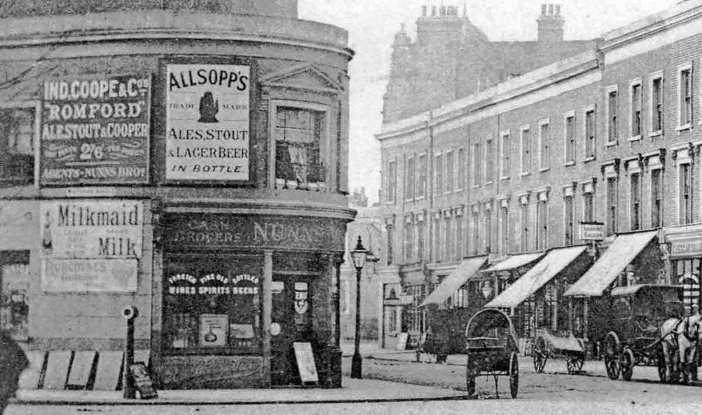 Loughborough Road old postcard