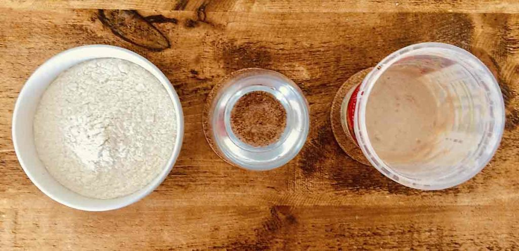 sourdough starte ingredients