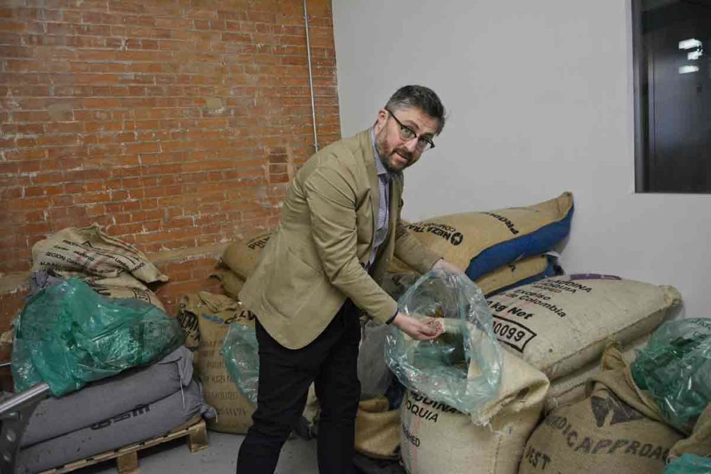 Volcano Coffee Works managing director Tom Delaney