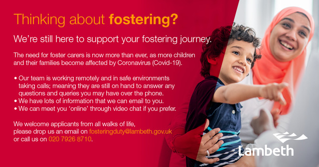 flyer for fostering fortnight