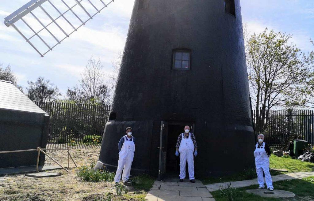 Millers at Brixton Windmill social distancing