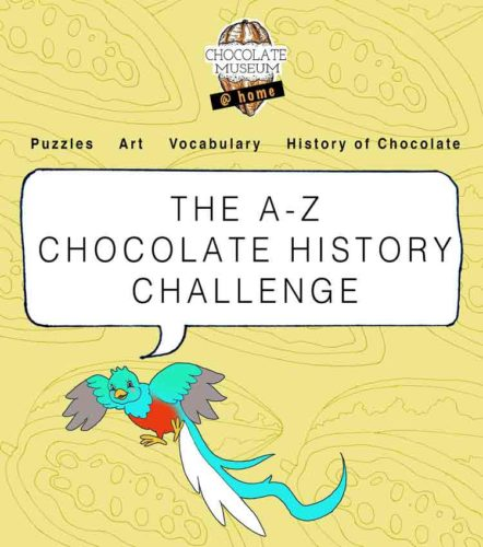 chocolate museum flyer