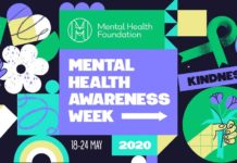 Poster for Mental Health Awareness Week