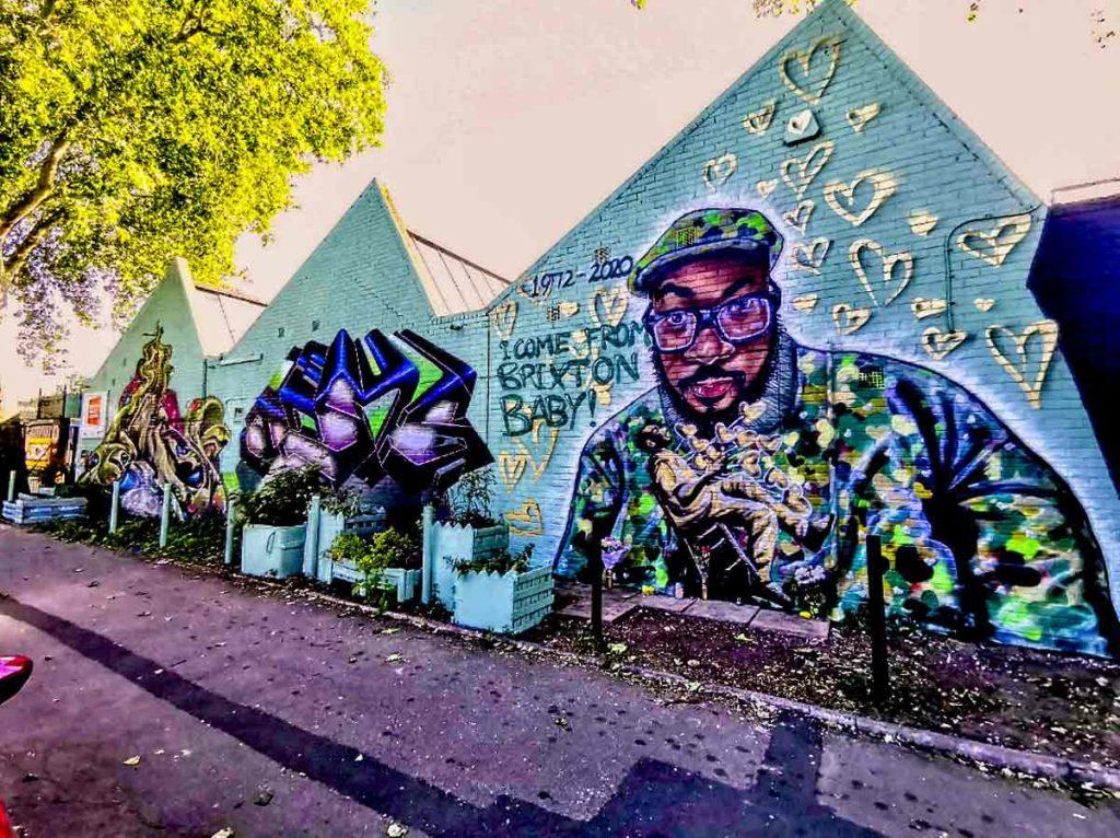 Ty mural Somerleyton Road Brixton