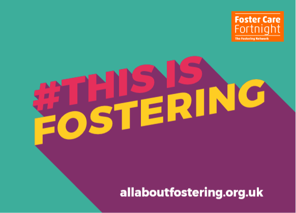 This Is Fostering campaign postcard