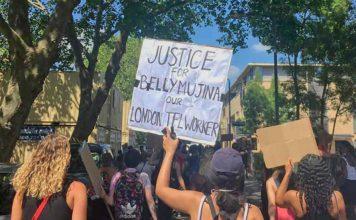 Black Lives Matter protest Brixton 1 June 2020