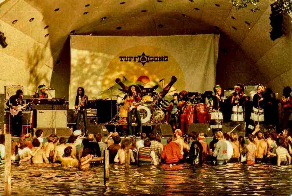 Bob Marley and the Wailers at Crystal Palace <br />Creative Commons/©Copyright Tankfield