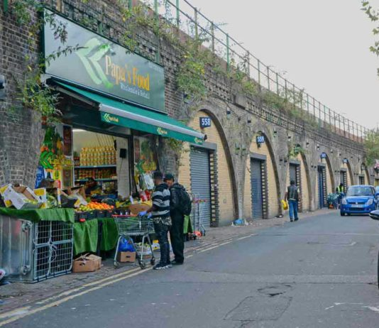 Arches in Brixton Station Road