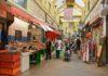 indoor market stalls
