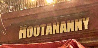 hootenanny sign
