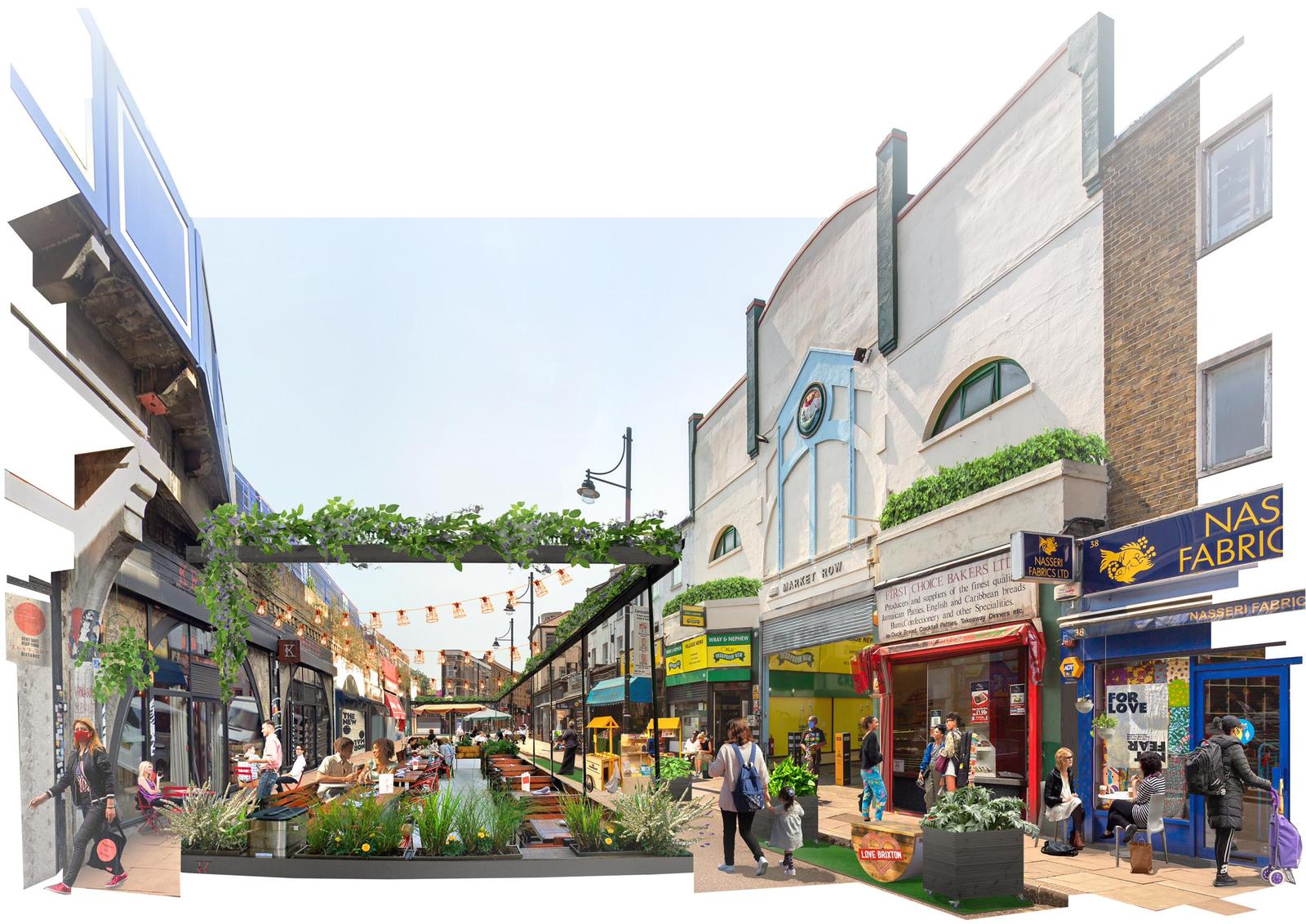 Illustration of Brixton Playground by Squire & Partners