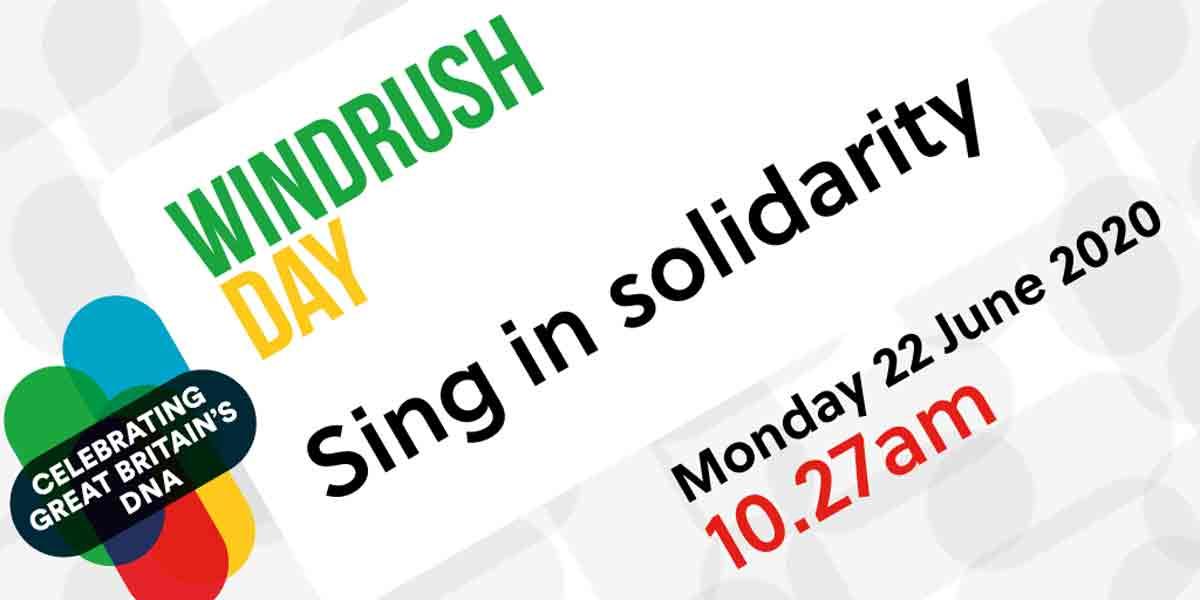 Windrush Day 2020 flyer