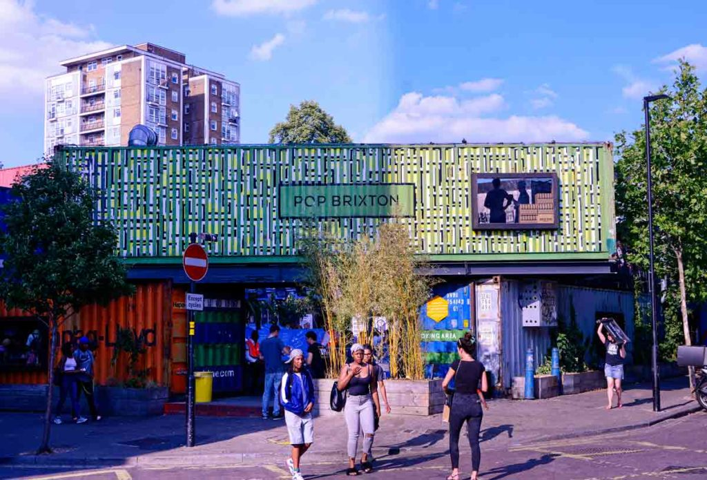 pop brixton container village