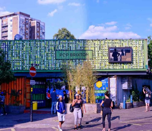 pop brixton container village
