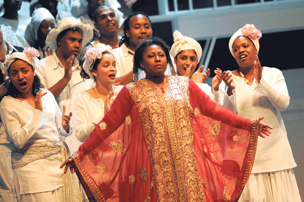 opera performance by BAME cast