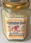 hony in pot