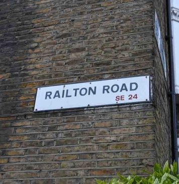 Image of Railton Road street sign