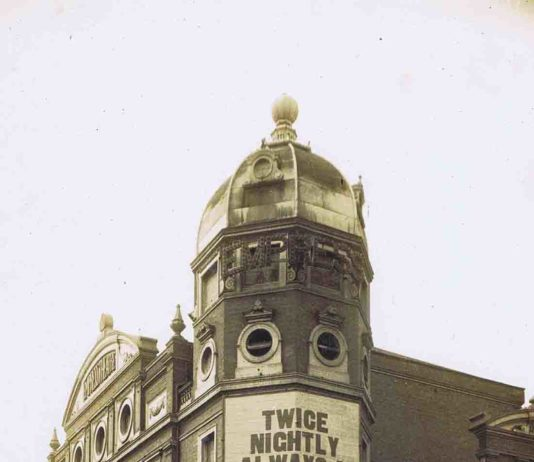 The Empress theatre, Brixton. Image provided by The Brixton Society.