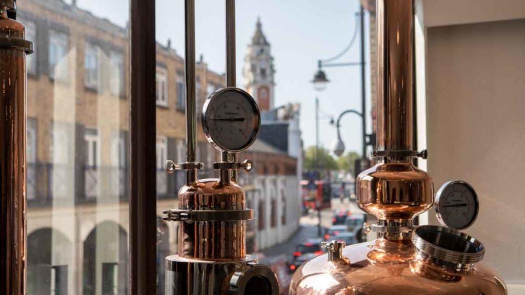 Market Row distillery on Coldharbour Lane