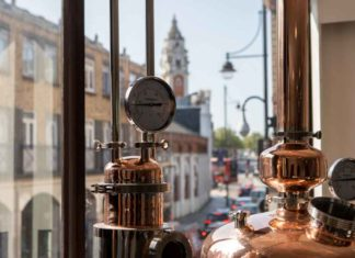 Market Row distillery on Coldharbour Lane