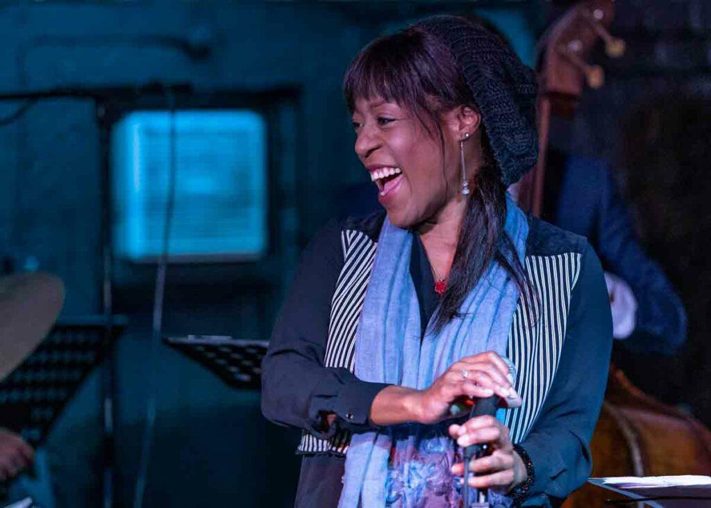 woman singer