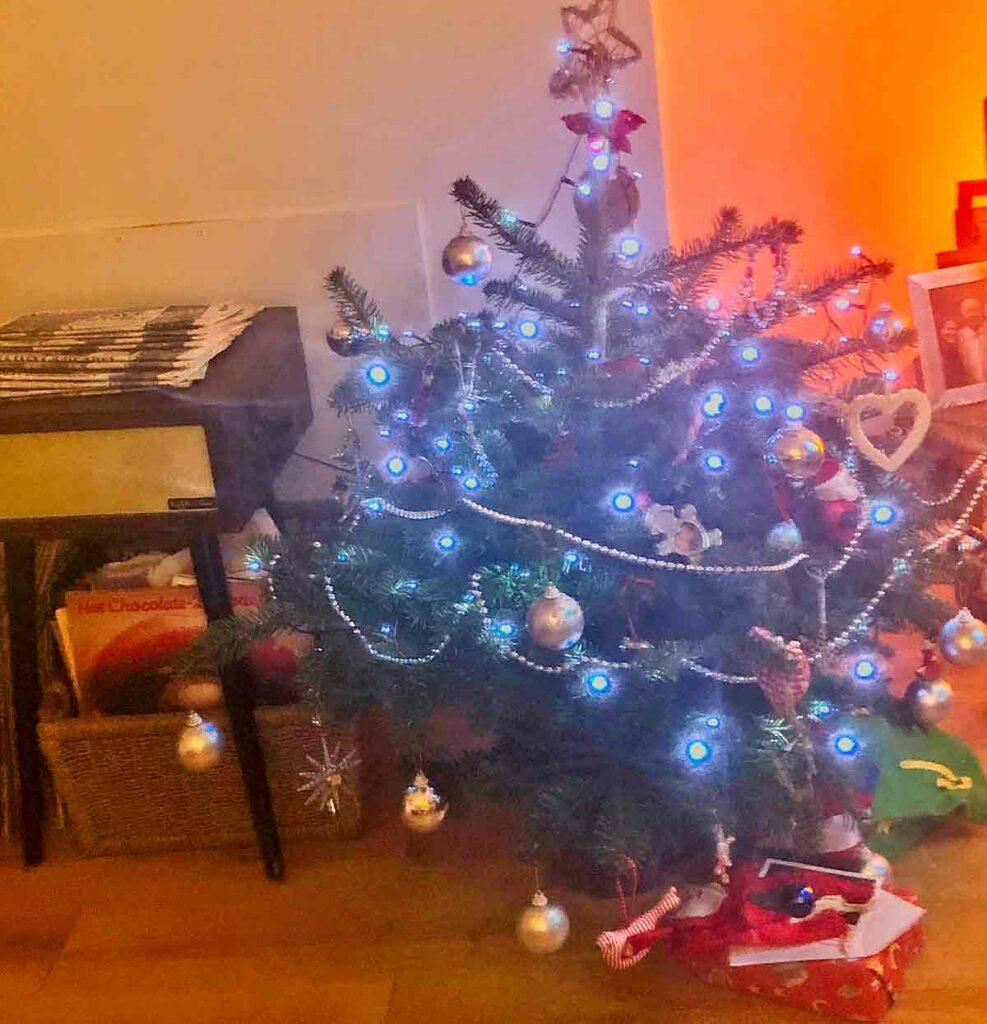 Christmas treats with lights