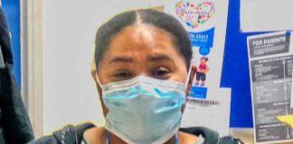 nurse in face mask