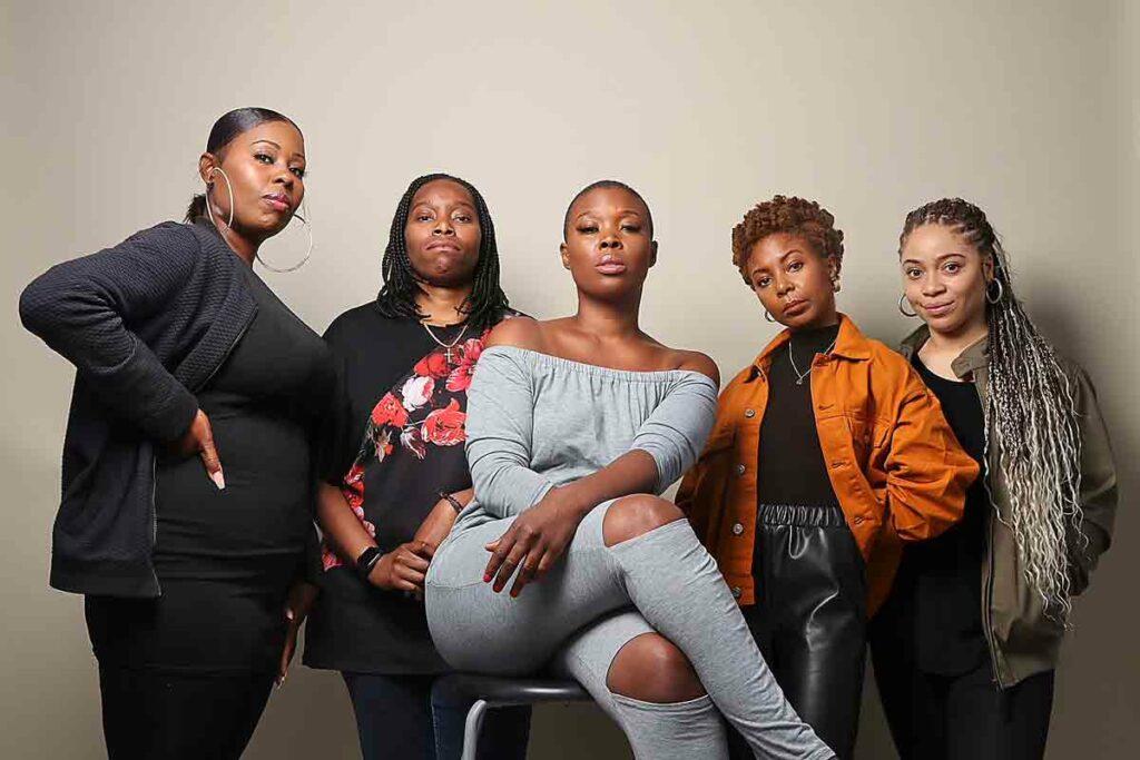 team of women