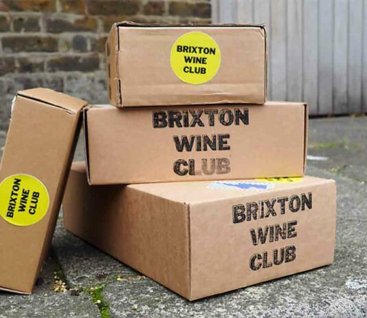 cardboard boxes in street