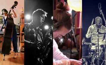 montage of musicians
